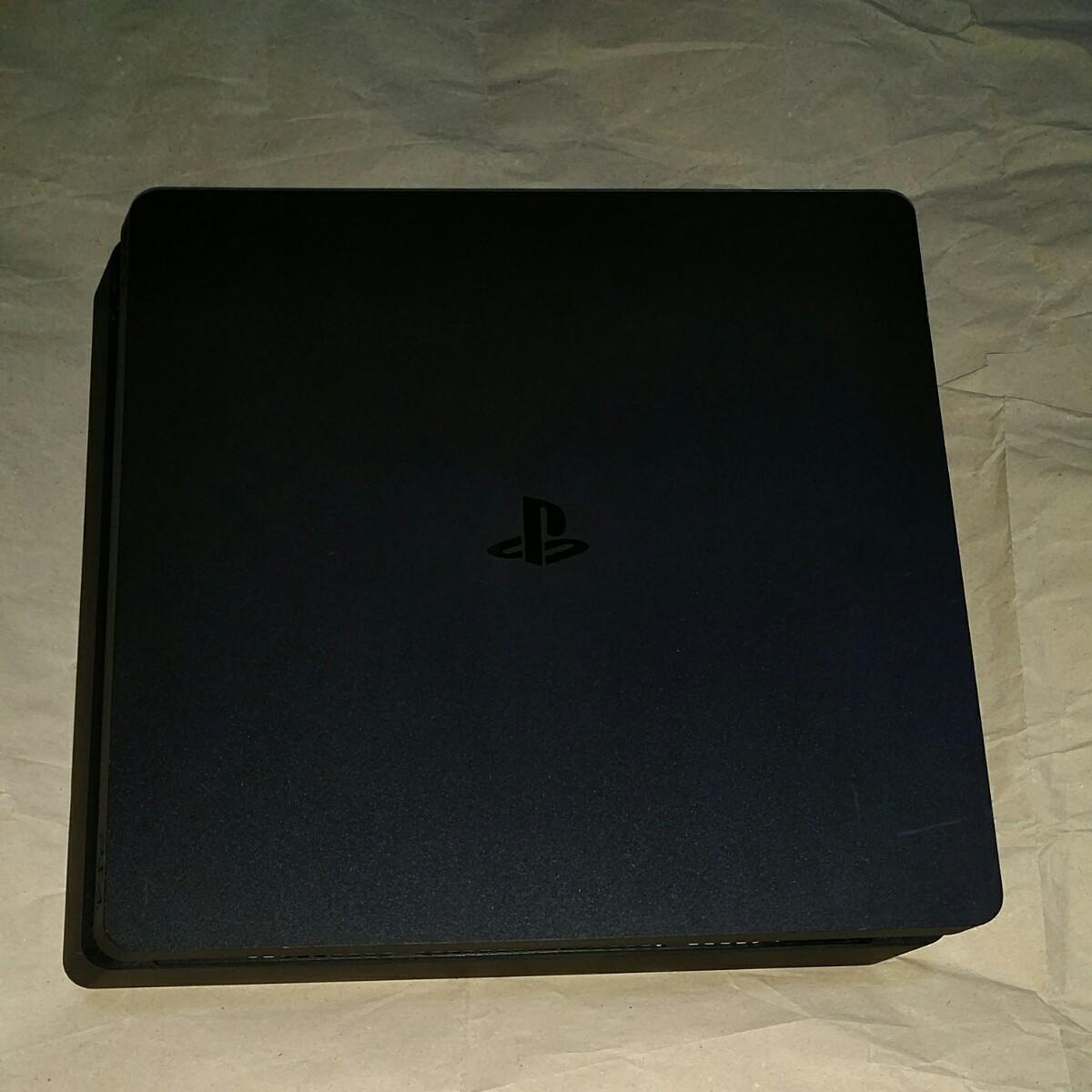 動作確認済み PS4 1TB版 スリム 薄型 黒 slim ジェットブラック 本体 6332