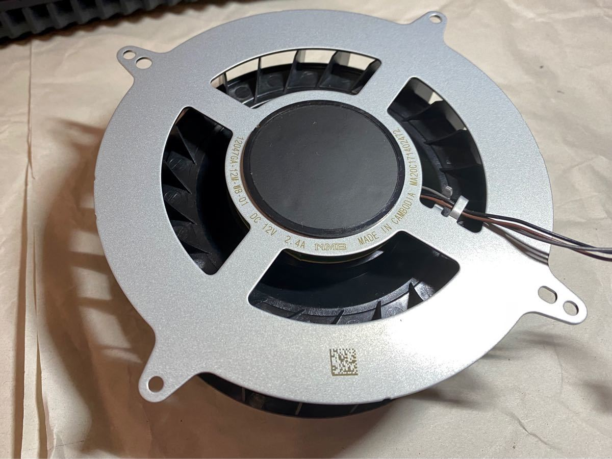 PlayStation5 PS5 冷却ファン(23枚ブレード)