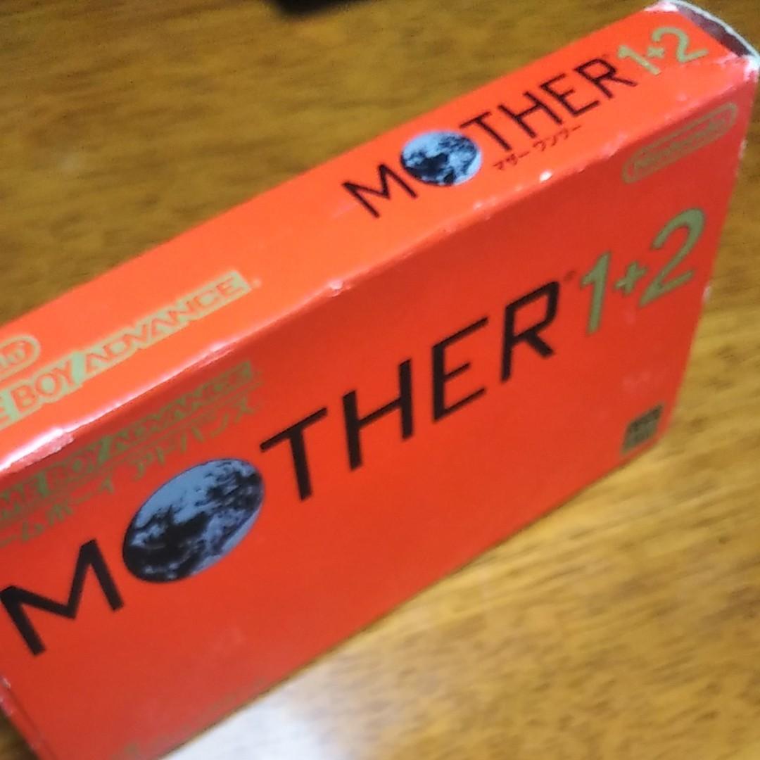 ゲームボーイアドバンス MOTHER1+2 MOTHER 任天堂 RPG