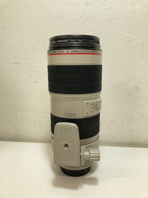 ※11495 CANON ZOOM LENS EF 70-200mm 1:2.8 L IS II USM レンズ カメラ 個人保管品 USED _画像4
