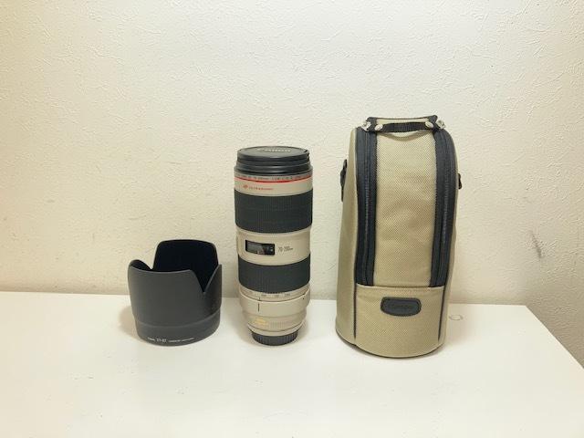 ※11495 CANON ZOOM LENS EF 70-200mm 1:2.8 L IS II USM レンズ カメラ 個人保管品 USED _画像1