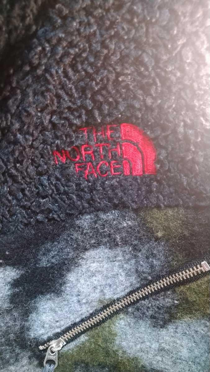 THE NORTH FACE PURPLE LABELノースフェイスパープルレーベル ナナミカ NA2183N サイズM フリースジャケット カモフラ 迷彩 ボア