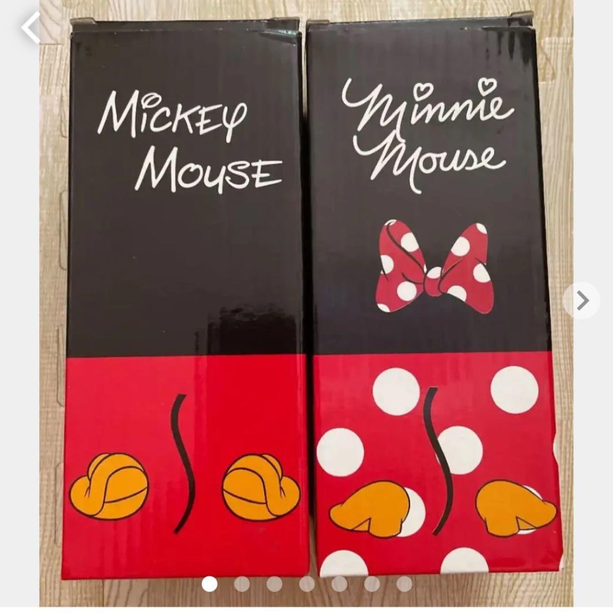 新品 ディズニー ミッキー&ミニー ステンレス マグボトル 水筒 300ml 2本セット