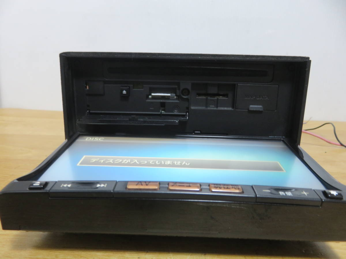 P586 クラリオンSSDナビ/MC311D-A/TVフルセグ地デジ 4×4 Bluetooth/USB AUX 本体のみ  CD DVD再生NG その他正常 _画像5
