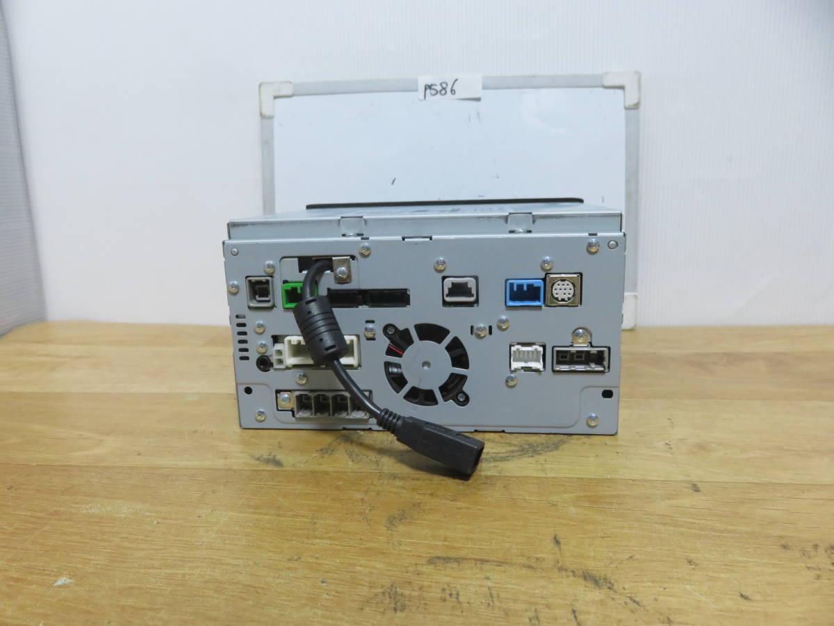 P586 クラリオンSSDナビ/MC311D-A/TVフルセグ地デジ 4×4 Bluetooth/USB AUX 本体のみ  CD DVD再生NG その他正常 _画像8