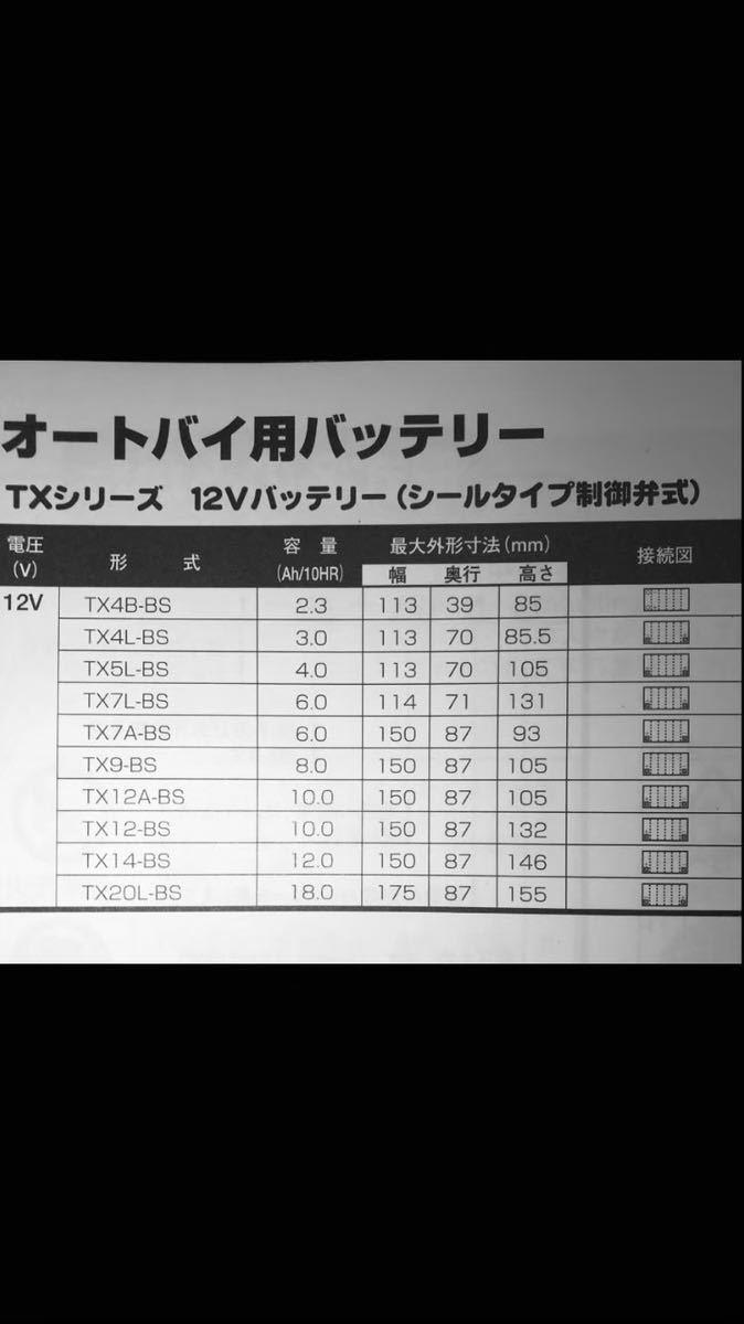 バイクバッテリー ブロード(駆)製 BB12AL-A2_画像4