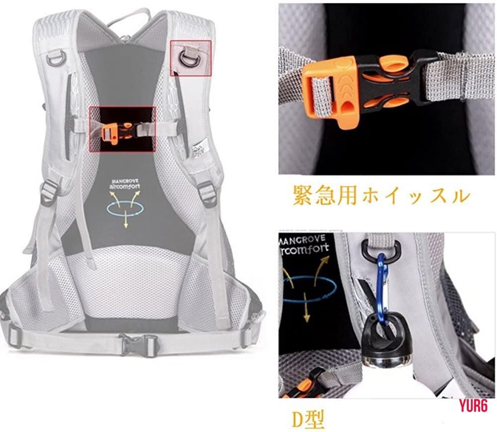 登山リュック 軽量 大容量 防撥水 リュックサック アウトドアバッグ 旅行 ハイキング クライミング バックパック  ブラック