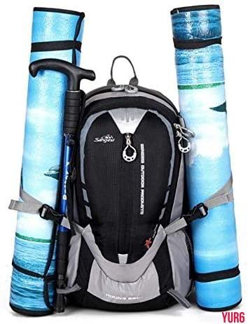 登山リュック 軽量 大容量 防撥水 リュックサック アウトドアバッグ 旅行 ハイキング クライミング バックパック  オレンジ