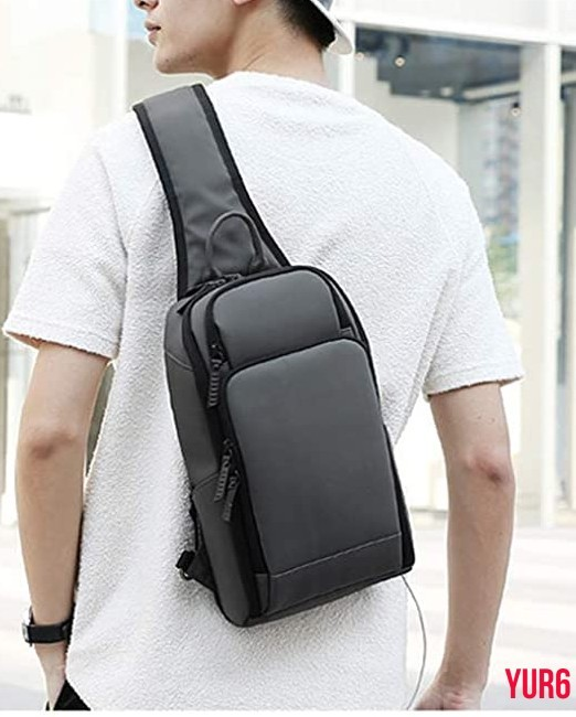 ボディーバッグ ワンショルダーバック 斜めかけバッグ 大容量 多機能 軽量 ビジネス 通学 通勤 旅行 撥水加工 USB充電ポート付属