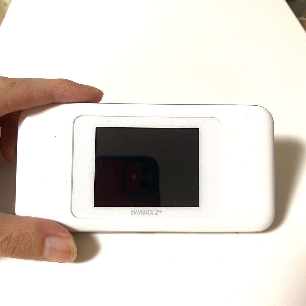 Speed Wi-Fi NEXT W06 UQ WiMAX版 WHITE ポケットWi-Fi