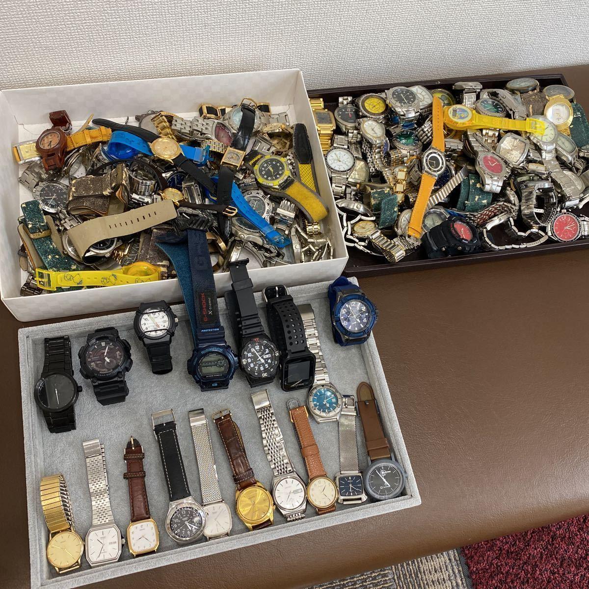 【一円スタート】SWATCH SEIKO CASIO G-SHOCK NIXON GUESS 他多数 腕時計 大量約113本