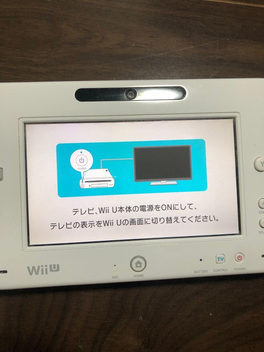【期間限定値下げ中】WiiU本体32GB + Wiiリモコン、 センサーバーセット 任天堂