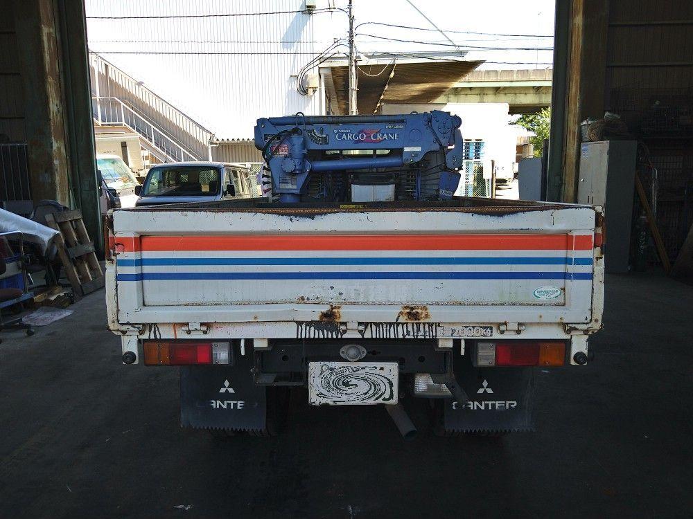 「4段クレーン タダノ ZR104 三菱 キャンター 平成17年3月 PA-FE70DB 4M50 4,900cc 標準 スタンダード トラック 2021082801 3659」の画像3