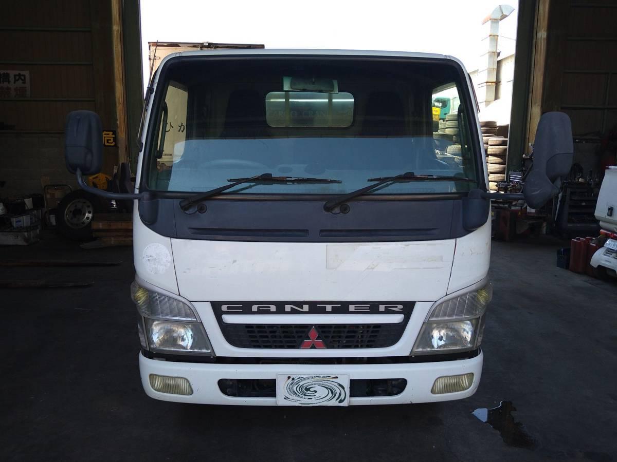 「4段クレーン タダノ ZR104 三菱 キャンター 平成17年3月 PA-FE70DB 4M50 4,900cc 標準 スタンダード トラック 2021082801 3659」の画像1