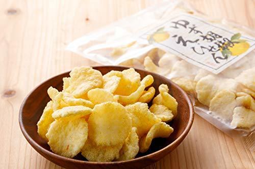 吉松 柚子胡椒 えびせん 業務用 お菓子 おつまみ えびせんべい 珍味 ゆず 海老 煎餅 (80g×4袋入)_画像5