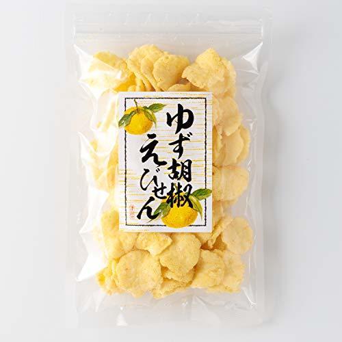 吉松 柚子胡椒 えびせん 業務用 お菓子 おつまみ えびせんべい 珍味 ゆず 海老 煎餅 (80g×4袋入)_画像6
