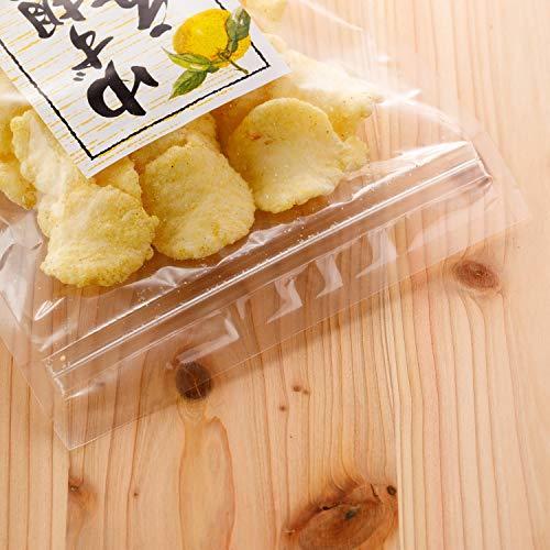 吉松 柚子胡椒 えびせん 業務用 お菓子 おつまみ えびせんべい 珍味 ゆず 海老 煎餅 (80g×4袋入)_画像7