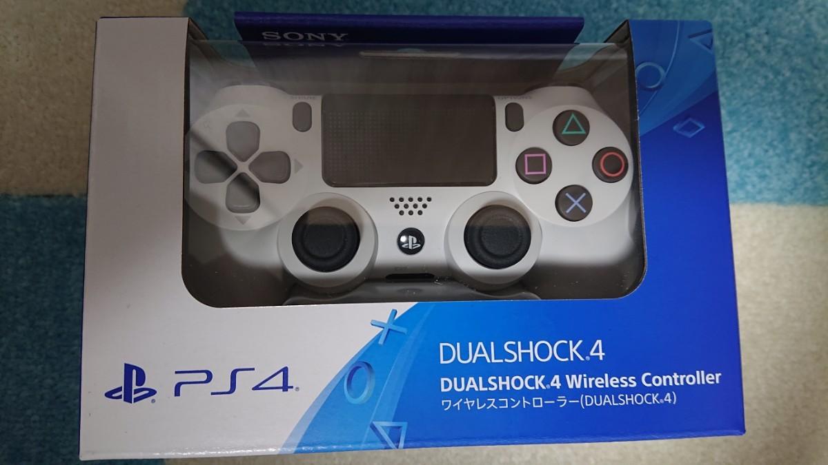 PS4 新品未開封 ワイヤレスコントローラー DUALSHOCK4 デュアルショック4 プレイステーション4