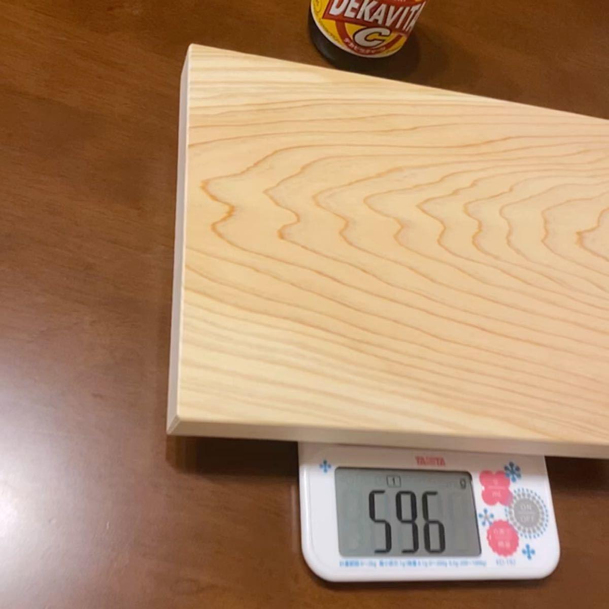 カッティングボード ひのき いい香り キャンプで使える 丈夫 木製 まな板 ディスプレイ用 DIY ソロキャン 木目
