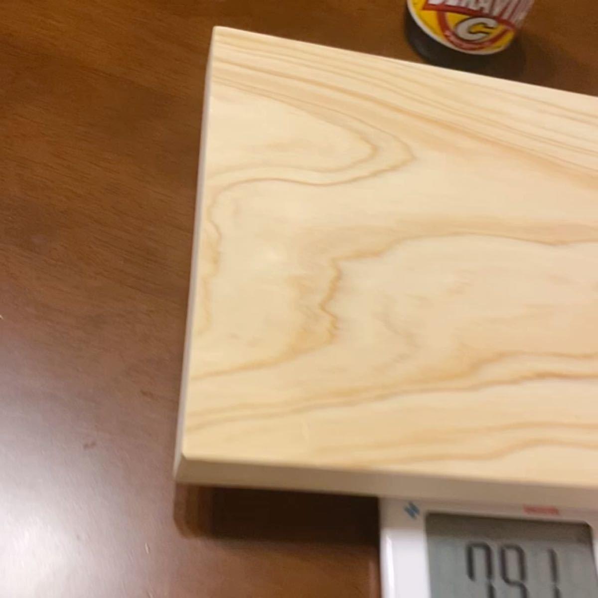 カッティングボード ひのき いい香り キャンプで使える 丈夫 木製 まな板 ディスプレイ用 DIY ソロキャン