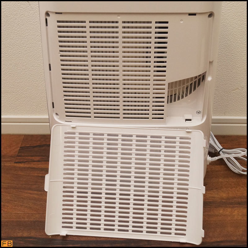 税込◆美品◆IRIS OHAYAMA 衣類除湿乾燥機 KIJD-H202 箱付 2021年製 シルバー デシカント方式 通電確認済 アイリスオーヤマ-BZ-6496_画像6