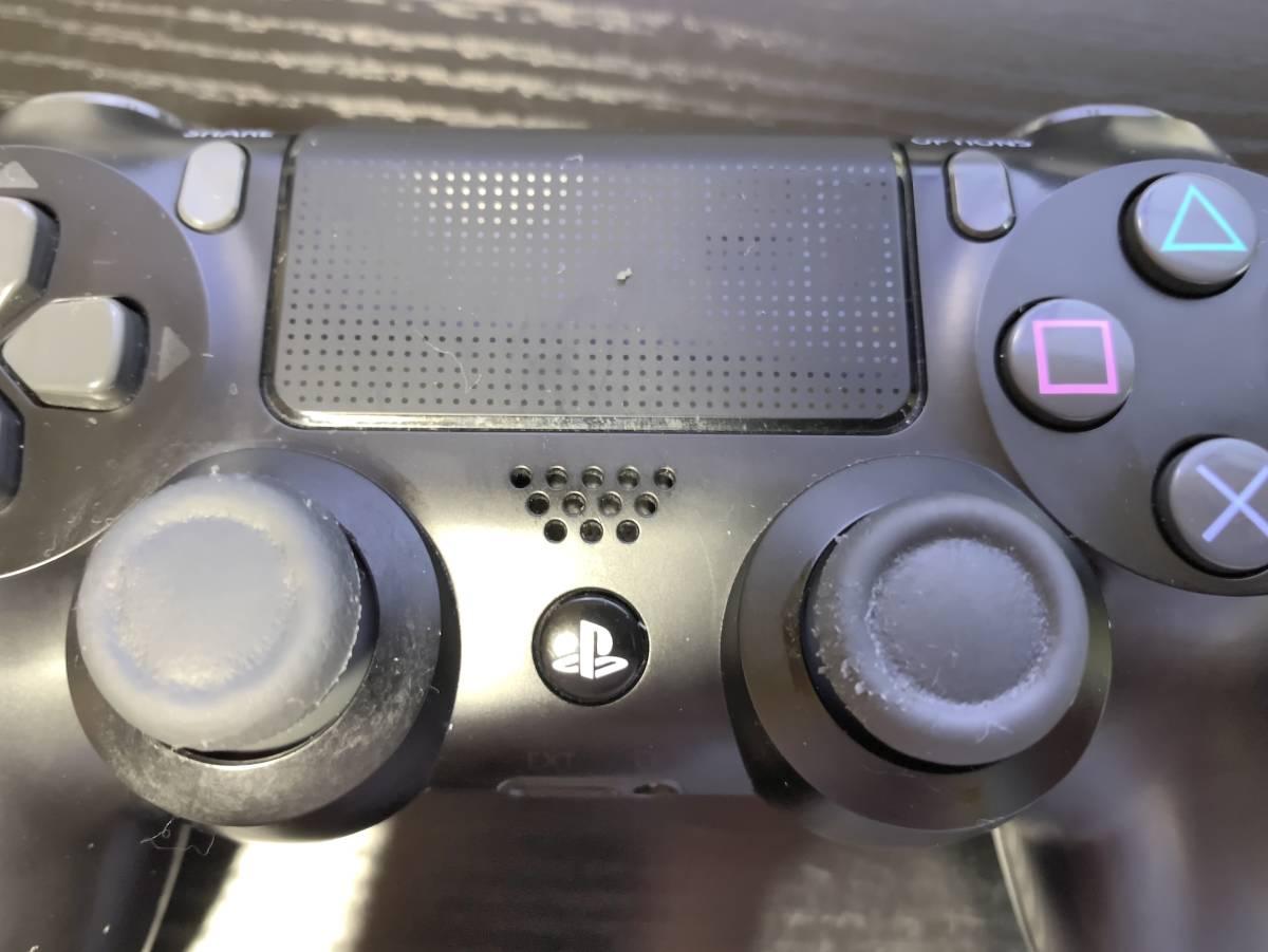PS4 DUALSHOCK 4 CUH-ZCT2J ワイヤレスコントローラー デュアルショック4 ジャンク扱いで プレイステーション4 プレステ