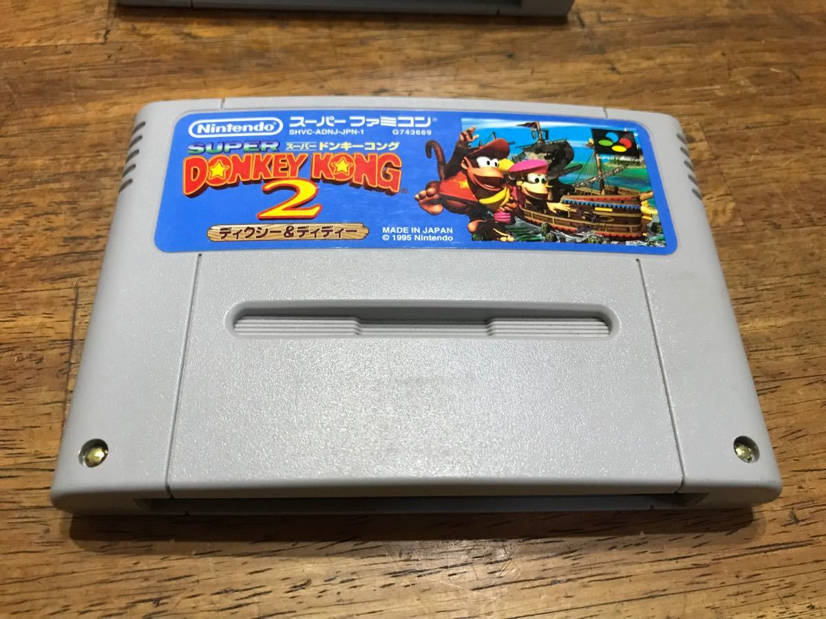 スーパーファミコン スーパードンキーコング3個セット