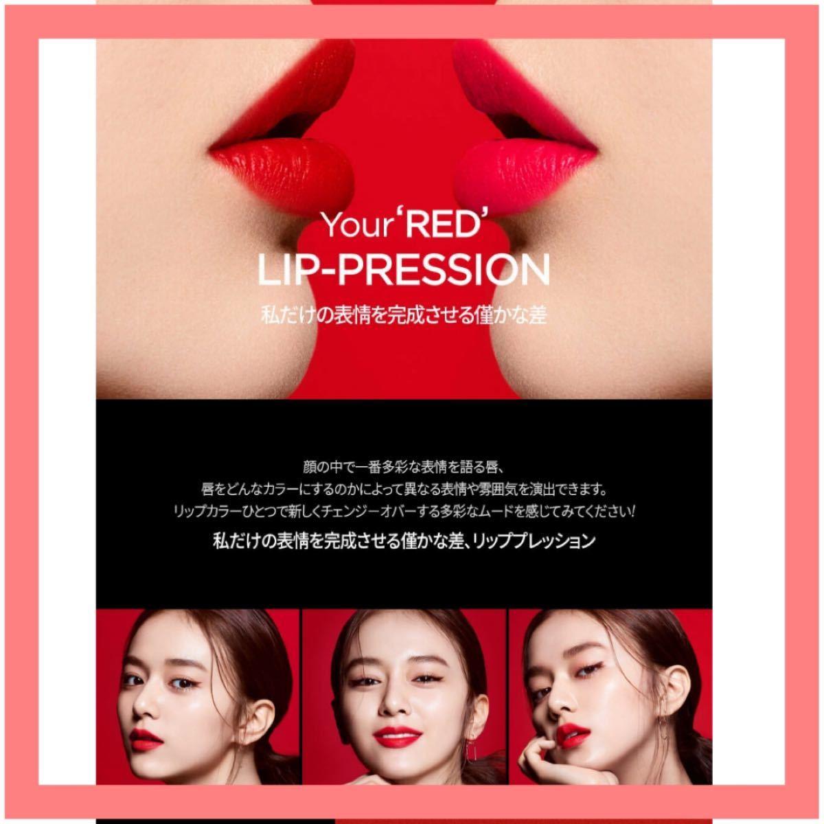 リップ プレッション/ JUNGSAEMMOOL韓国リップティント
