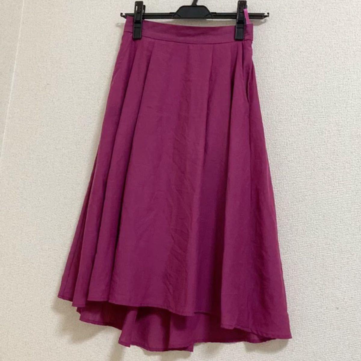 ロペピクニック フィッシュテールスカート 膝丈ミモレ丈スカート フレアスカート
