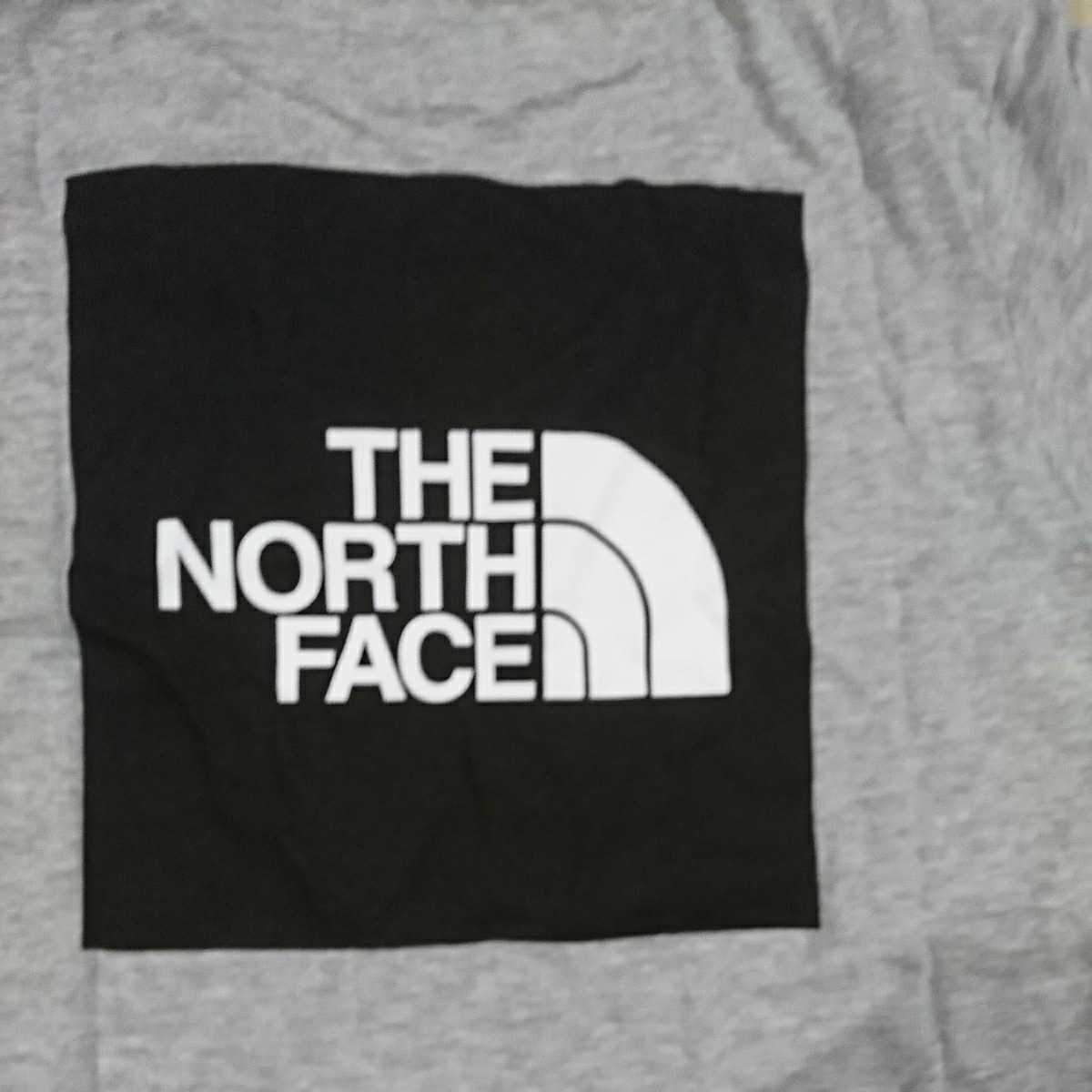 THE NORTH FACE ザノースフェイス ロゴTシャツ ハーフドーム デカロゴ 子供用 Mサイズ