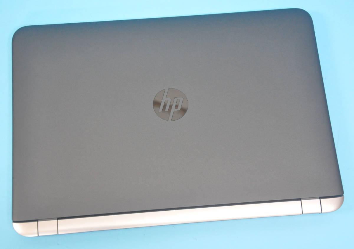 ♪ 良品 上位モデル ProBook 450 G3 ♪ 高速SSD !! 大画面15.6 Corei3 6100U / メモリ8GB / 新品SSD 256GB / カメラ / Office2019 / Win10_画像3
