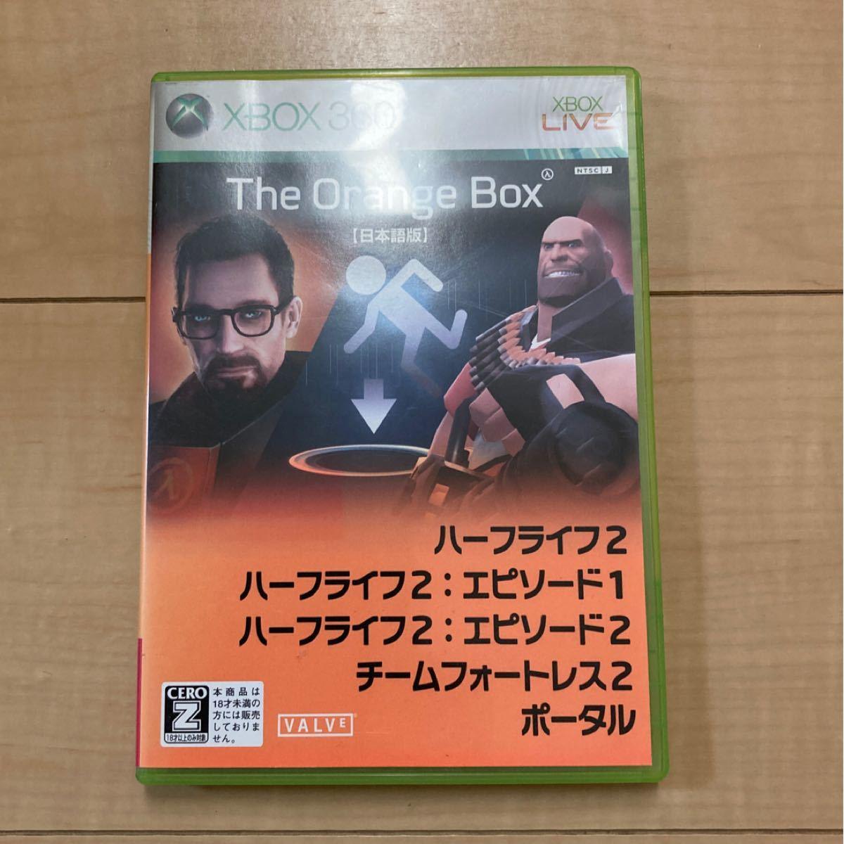 xbox360用ソフト The Orange Box ザ・オレンジボックス