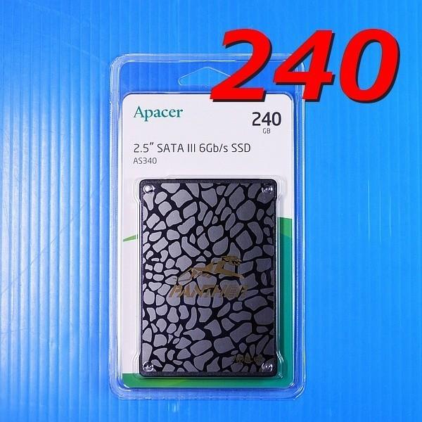 特注品【SSD 120GB 2枚セット】Apacer AS340 PANTHER