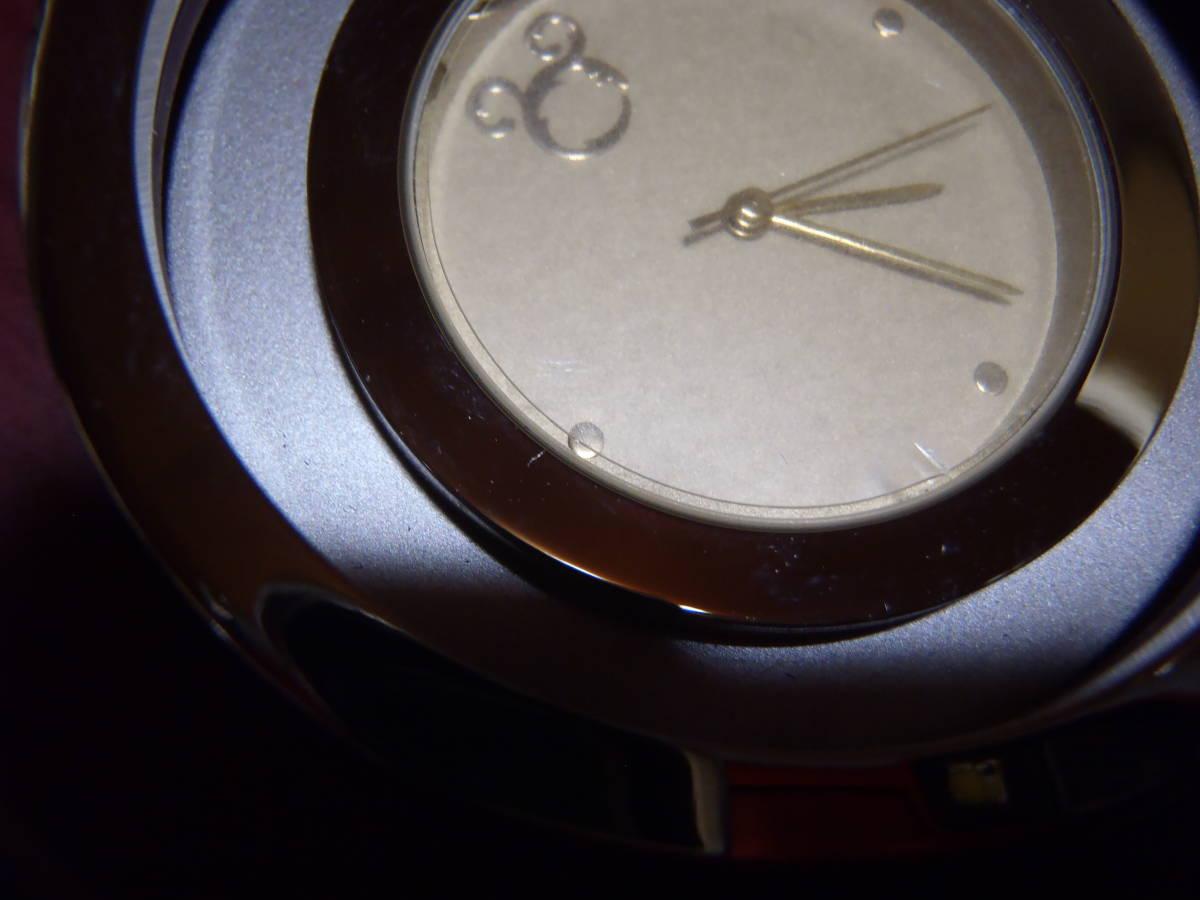 希少 非売品 未使用【東京ディズニーシーホテル MIRACOSTA ミラコスタ】 クロック 置時計 ディズニー 稼働 時計 東京ディズニーランド_保護シールついたままです