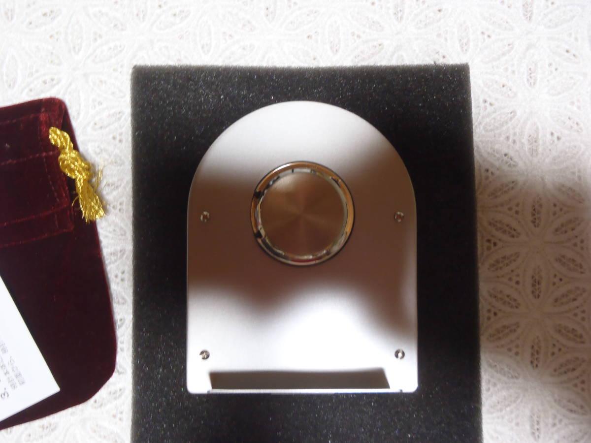 希少 非売品 未使用【東京ディズニーシーホテル MIRACOSTA ミラコスタ】 クロック 置時計 ディズニー 稼働 時計 東京ディズニーランド_画像8