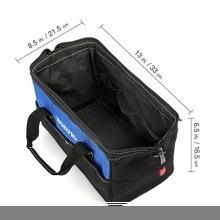 新品13-Inch WORKPRO ツールバッグ 工具差し入れ 道具袋 工具バッグ 大口収納 600DオックスフォORZ78_画像2