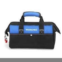 新品13-Inch WORKPRO ツールバッグ 工具差し入れ 道具袋 工具バッグ 大口収納 600DオックスフォORZ78_画像1
