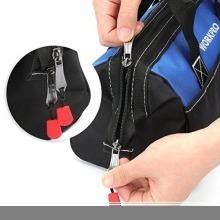 新品13-Inch WORKPRO ツールバッグ 工具差し入れ 道具袋 工具バッグ 大口収納 600DオックスフォORZ78_画像4