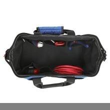 新品13-Inch WORKPRO ツールバッグ 工具差し入れ 道具袋 工具バッグ 大口収納 600DオックスフォORZ78_画像3