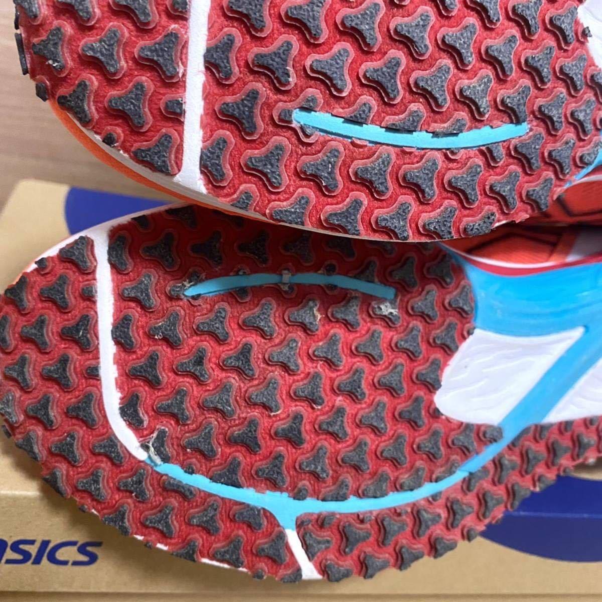 アシックス ランニングシューズ メンズ TARTHEREDGE 靴 スニーカー サンライズレッド ブラック 赤 黒 1011A853 600 新品 26cm asics ジム