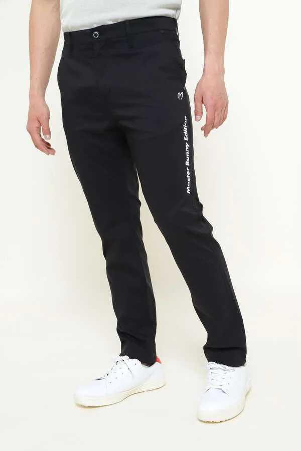 新品正規品 マスターバニー パーリーゲイツ サイズ6 2021モデルの最新作 ナイロン ドビー ストレッチ パンツ ブラック 送料無料_画像1