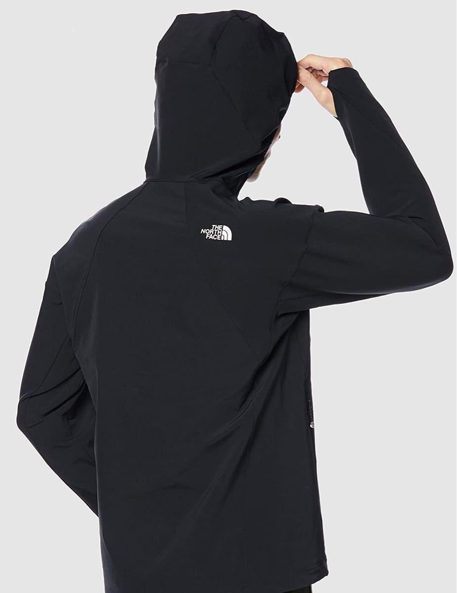 THE NORTH FACE ザノースフェイス ソフトシェルジャケット ハンマーヘッドフーディー ブラック(黒) メンズM 新品