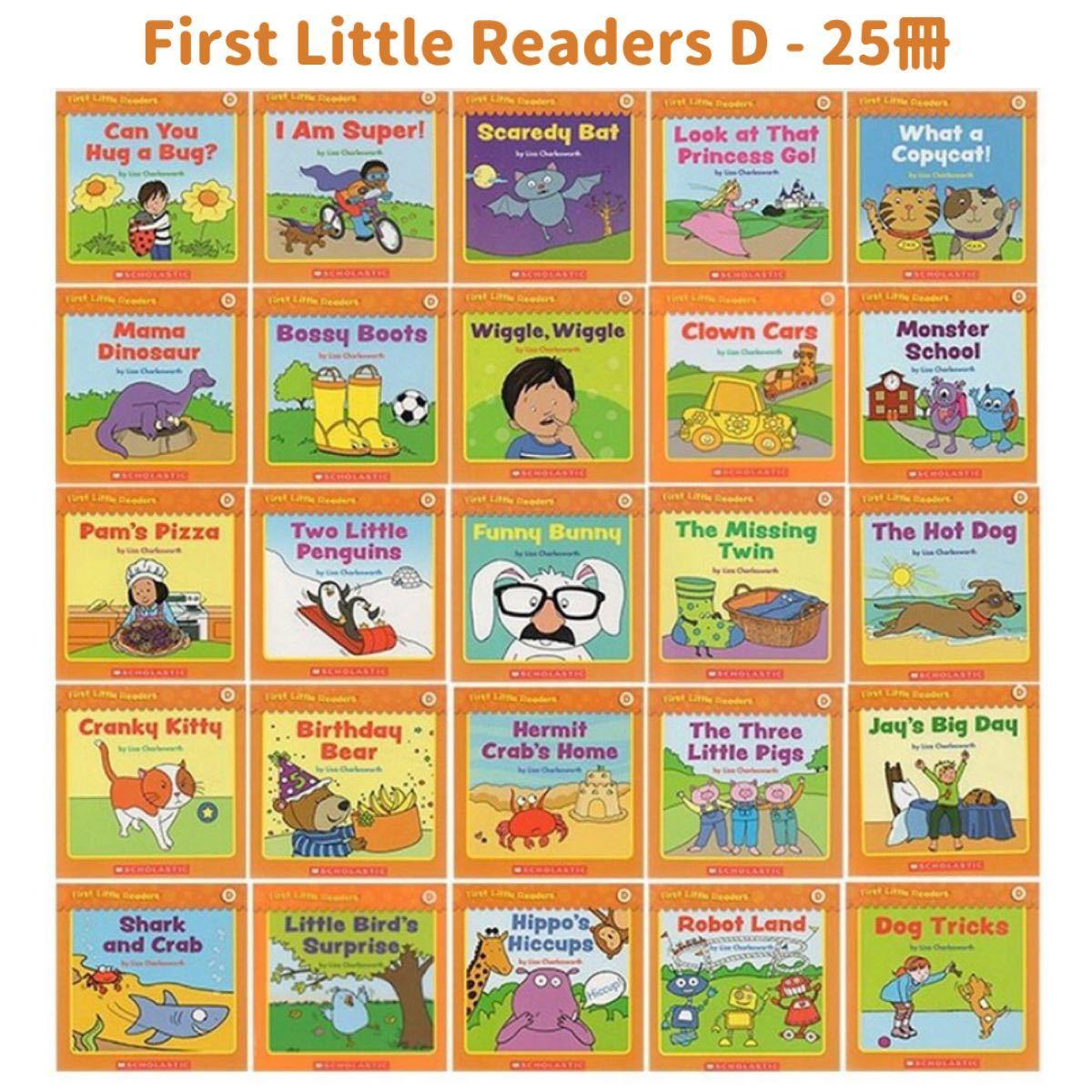 英語絵本 First little readers ABCDEF CD付音声絵本