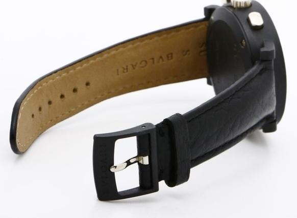 BVLGARI ブルガリ BB38CLCH ブルガリブルガリ クロノグラフ ブラック文字盤 黒 メンズ 腕時計 正規品 稼働品_画像6