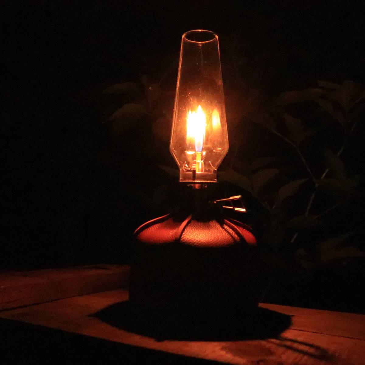 《国内発送・送料無料》ガスランタン 木製収納ケース付 ランプライト 燭台 卓上ランタン キャンドルランタン  ルミエール《PayPay対応》