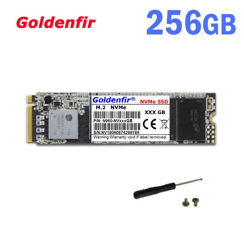 《最安新品!》SSD Goldenfir M.2 NVMe PCI-E 256GB 新品未開封 高速 2280 TLC 3D NAND 内蔵 デスクトップ ノートPC_画像1