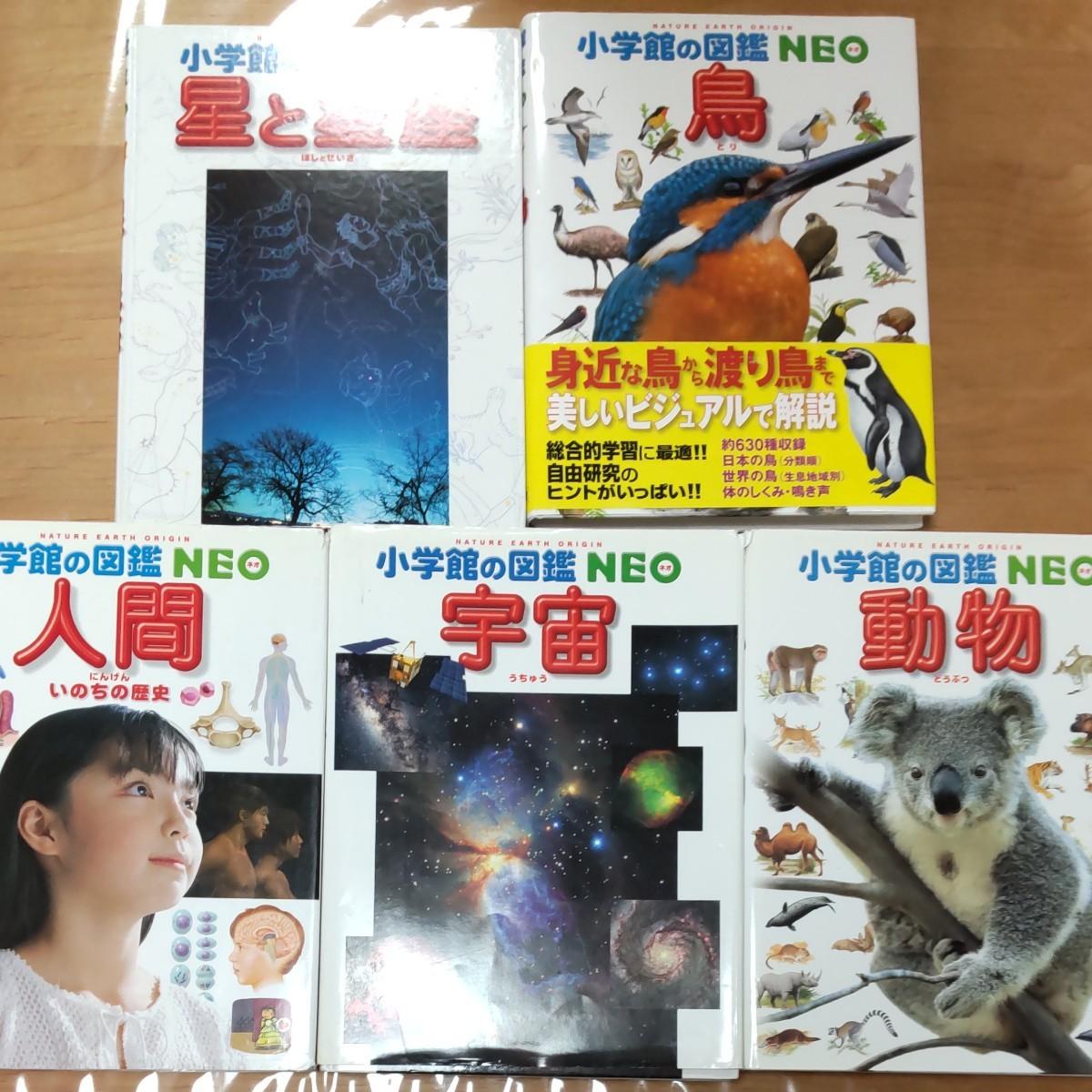 小学館の図鑑 NEO 5冊セット