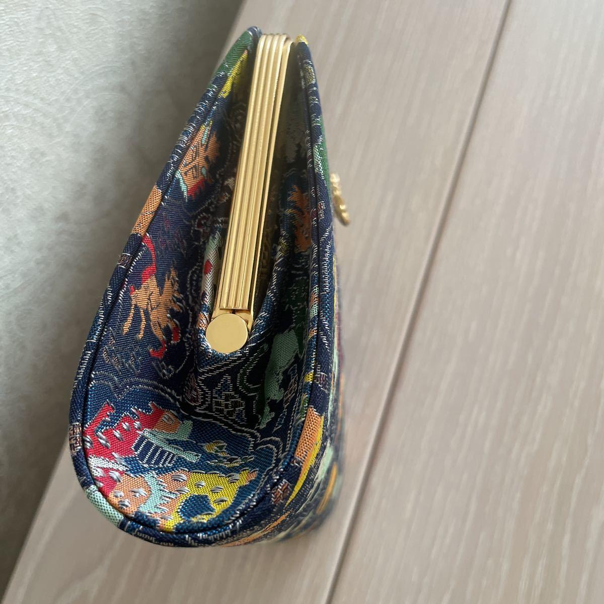 お買い得!龍村織物 高級正絹バッグ!高島屋_画像3
