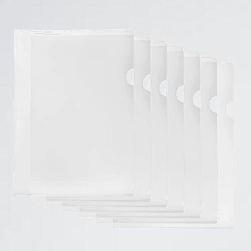 未使用 新品 20枚セット クリアファイル M-V2 カバン (透明) A4 縦 ファイル ケ-ス 防水 高透明カラ- 薄型 書類整理 資料収納 バッグ_画像1