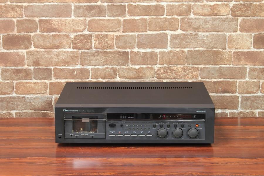 NAKAMICHI 581Z ナカミチ カセットデッキ 4トラック・2チャンネル・ステレオ方式 #R06397